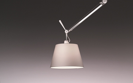 ARTEMIDE | TOLOMEO OFF-CENTER SUSPENSION