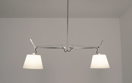ARTEMIDE | TOLOMEO DOUBLE SUSPENSION - SHADE