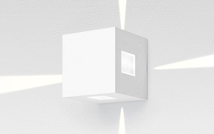 ARTEMIDE OUTDOOR | EFFETTO SQUARE WALL LED LAMP