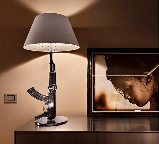 Flos Guns AK47 Table Lamp : Flos Lighting