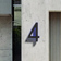 Luxello 16 inch Black House Numbers