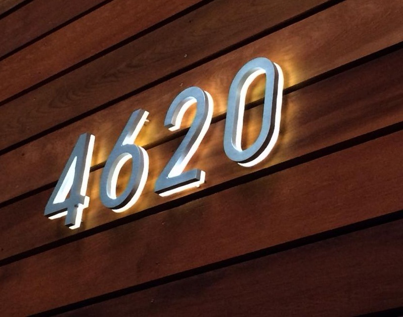 House Numbers Modern Design