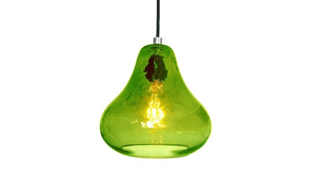 LUXELLO | HAPPY KISS PENDANT LIGHT - LIME GREEN