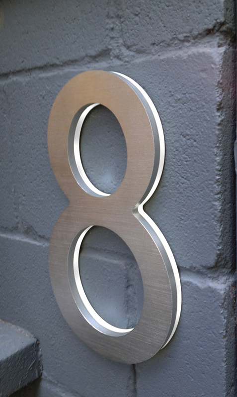 Luxello Modern 10 House Address Numbers Surrounding Com