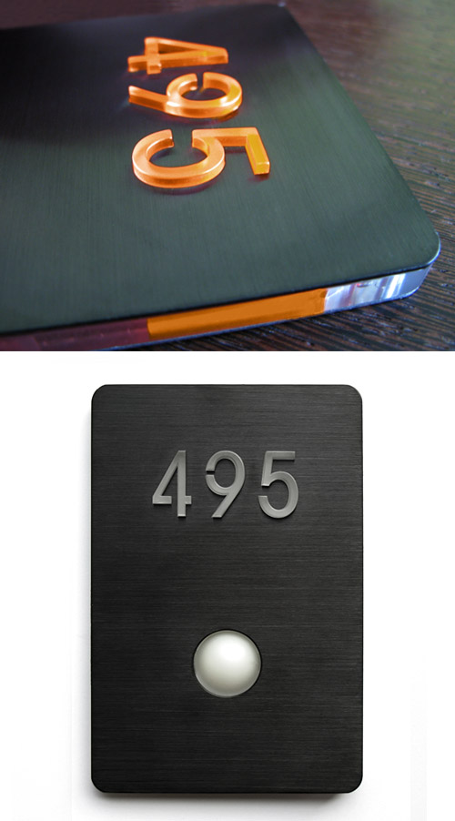 Luxello LED Doorbell Button Panel