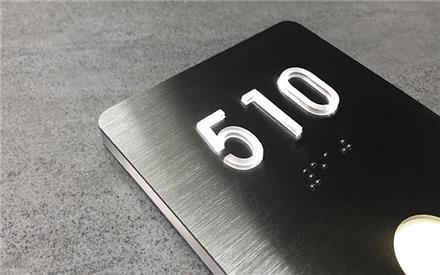 LUXELLO | LED ROOM NUMBERS LIGHTED