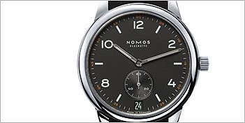 MODERN WATCHES | NOMOS CLUB AUTOMATIC DATUM DUNKEL WATCH