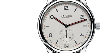 MODERN WATCHES | NOMOS CLUB AUTOMATIC DATUM WATCH