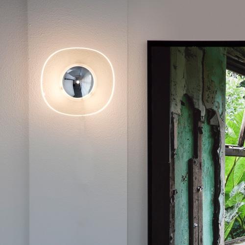 Oluce Yolk Wall Lamp Surrounding Com