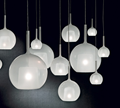 Penta Light Glo White Mini Pendant Lamp