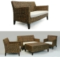 Skin Brown 2 Seater