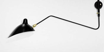 SERGE MOUILLE | 1 ARM WALL SCONCE