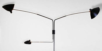 SERGE MOUILLE | 4 ARM STRAIGHT WALL SCONCE