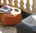 Serralunga Meteor Stool Table