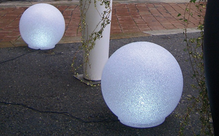 SERRALUNGA | CRYSTAL MOON FLOOR LAMP