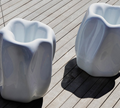 Serralunga New Wave Outdoor Planters