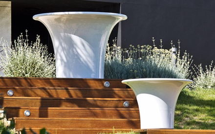 SERRALUNGA | CONE BIG OUTDOOR PLANTERS