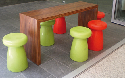 SERRALUNGA FURNITURE | PORCINO OUTDOOR STOOL