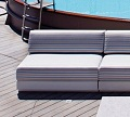 One Outdoor Sofa with One Seat