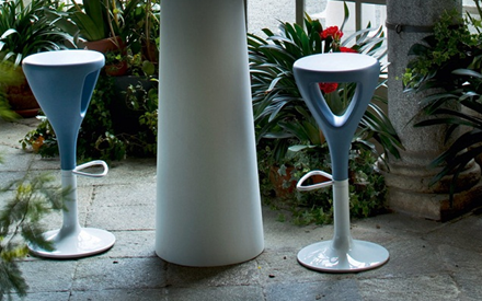 SERRALUNGA FURNITURE | ZUFF STOOL