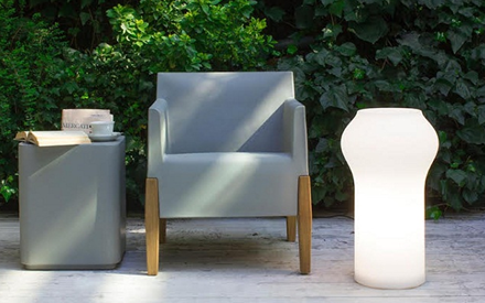 SERRALUNGA FURNITURE | KUBRIC OUTDOOR ARMCHAIR