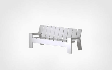SERRALUNGA FURNITURE | COAST OUTDOOR BENCH