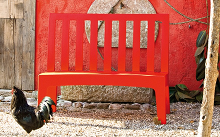 SERRALUNGA FURNITURE | ROMEO OUTDOOR BENCH