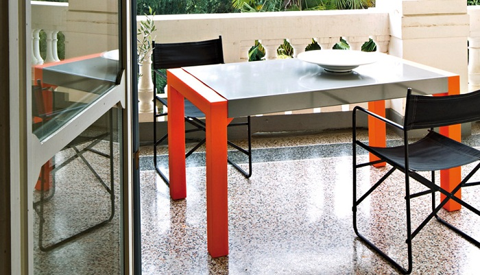 Serralunga furniture svedese outdoor table for Serralunga furniture