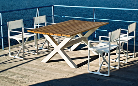 SERRALUNGA FURNITURE | BANQUETE OUTDOOR TABLE