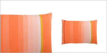 THOMAS EYCK | T.E. 038 CUSHION DARK ORANGE