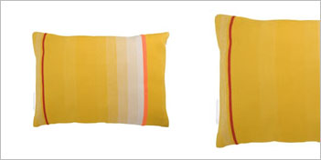 THOMAS EYCK | T.E. 040 CUSHION DARK YELLOW