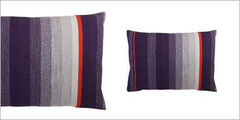 THOMAS EYCK | T.E. 034 CUSHION DARK PURPLE