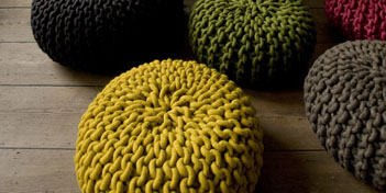 THOMAS EYCK | URCHIN POUF MEDIUM
